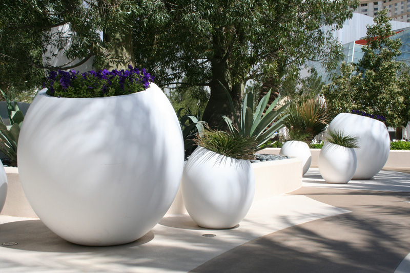Project gallery old town fiberglass for Outdoor pottery las vegas nv